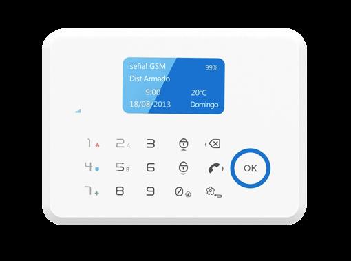 دزدگیر G6 مدل GSM + PSTN