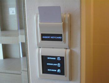کنترل روشنایی در اتاق هتل (پاورسوئیچ)